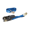 Rubber-Handled Ratchet Strap J-Hook Capacity 800kg
