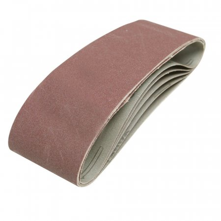 Sanding Belts - Fits All 75 x 533mm Belt Sanders- 5 Pack