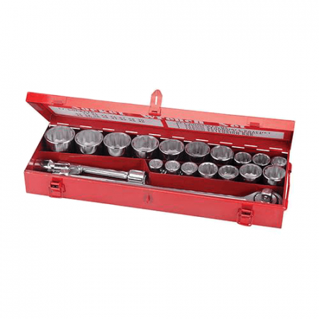 "Socket Set 3/4"" Drive Metric - 21 piece"