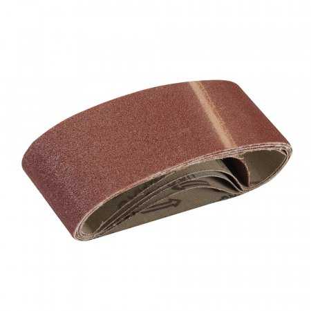 Sanding Belts, 80 Grit - Fits All 60 x 400mm Belt Sanders - 5 Pack