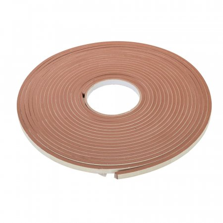 Brown Self Adhesive E-Profile Draught Exclusion Tape