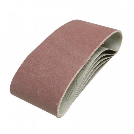 Sanding Belts - Fits All 100 x 610mm Belt Sanders- 5 Pack