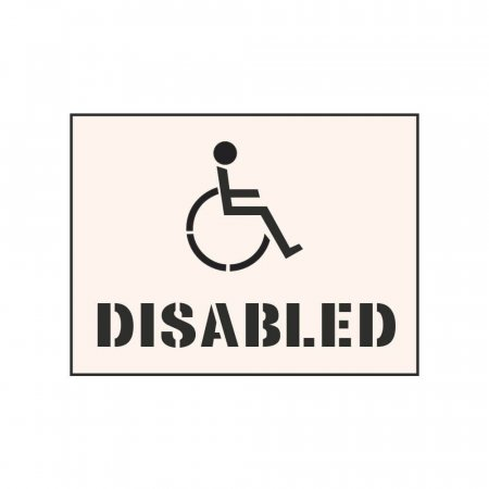 DISABLED - Tough Reusable Industrial Stencil