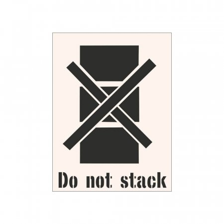 DO NOT STACK - Insutrial Stencil
