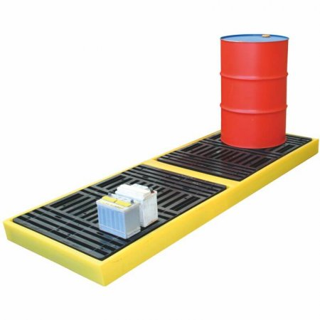 4 Drum Workfloor Dispensing System, Sump Capacity of 300 Litres