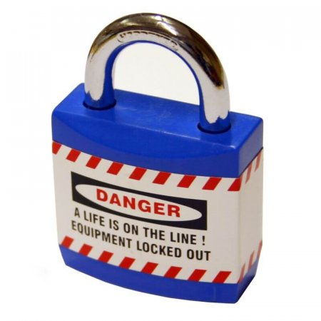 Blue Jacket Safety Padlocks