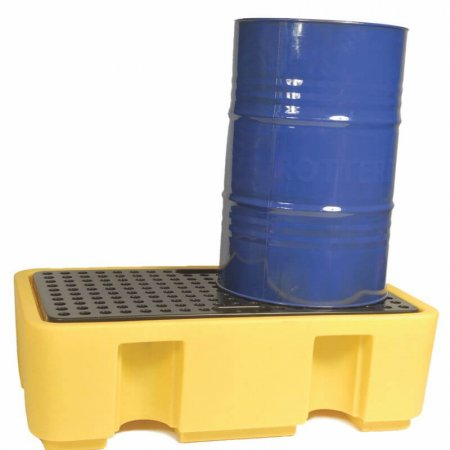 2 Drum Spill Pallet, 250 Litres Capacity