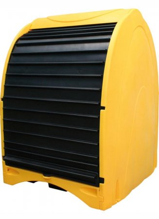 4 Drum Hardcover Spillpallet, Sump Capacity of 250 Litres