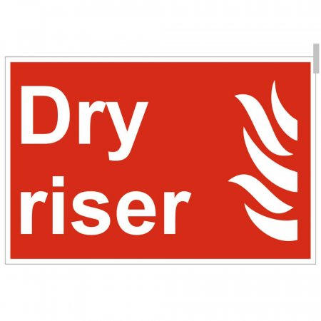 Dry Riser Location Signs