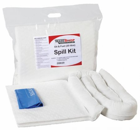 20 Ltr Oil & Fuel Only Spill Kit
