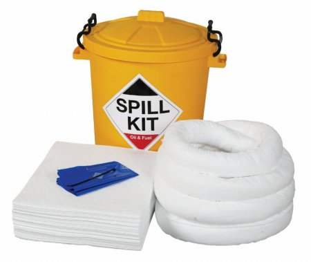 65 Ltr Oil & Fuel Spill Kit with Storage Bin