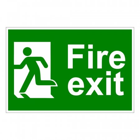 Fires Exit Sign