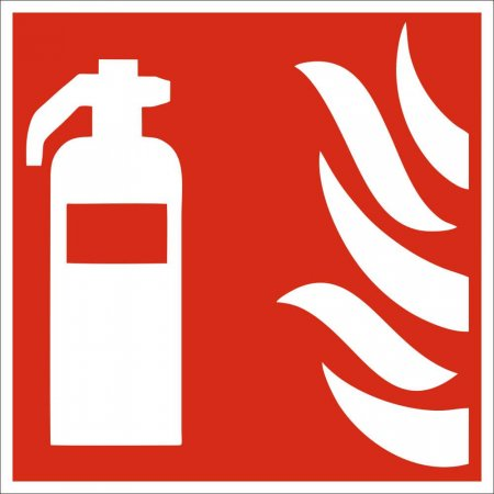 Fire Extinguisher Sign - Symbol