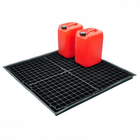 Flexi Spill/Drip Tray With 4 Grids, Capacity of 44 Litres