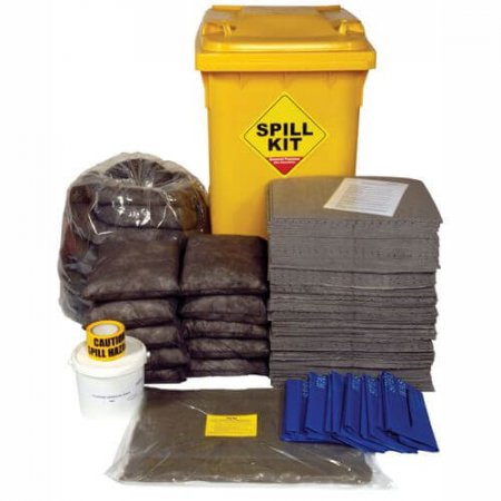 350 Ltr Wheeled General Spill Kit