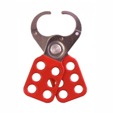 Vinyl Coated Lockout Hasp - 25mm