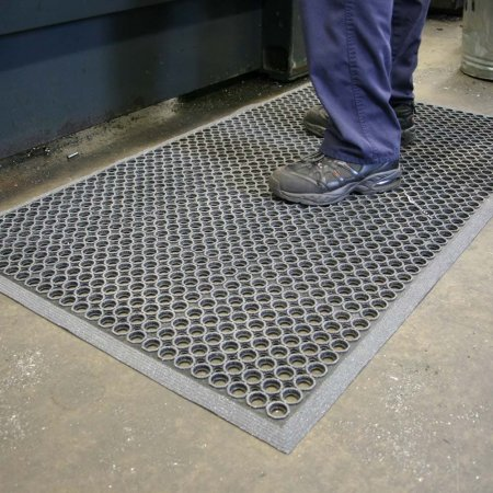 High-Duty Grit Mat Black