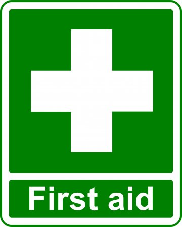 First Aid - Safe Condition Sign