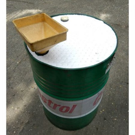 Oil & Fuel Absorbent Drum Toppers