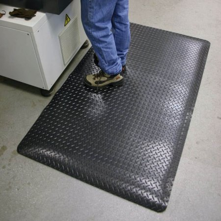 Deckplate Matting In Use