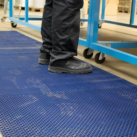 Diamond Grid PVC Safety Matting