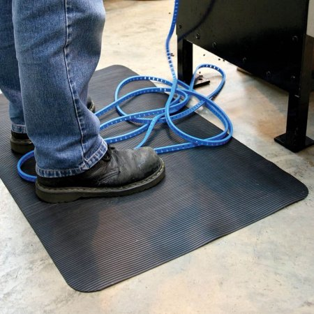 Fluted Anti-fatigue Mat