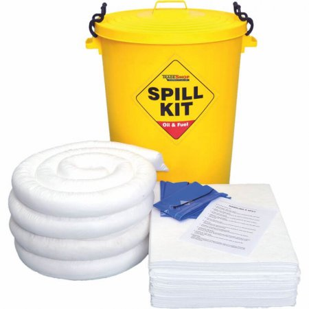 90 Ltr Oil & Fuel Spill Kit with Storage Bin