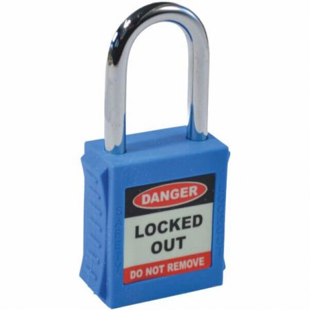 Blue Safety Lockout Padlock