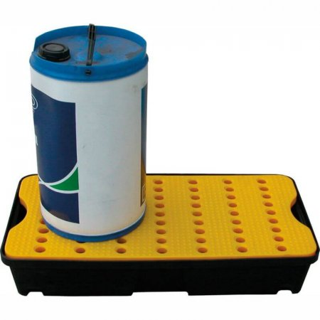 Small Rigid Plastic Spill/Drip Tray with Removable Surface Grids, Capacity of 30 Litres