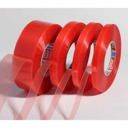 Tesa 4965 Double Sided Transparent Poly Tape
