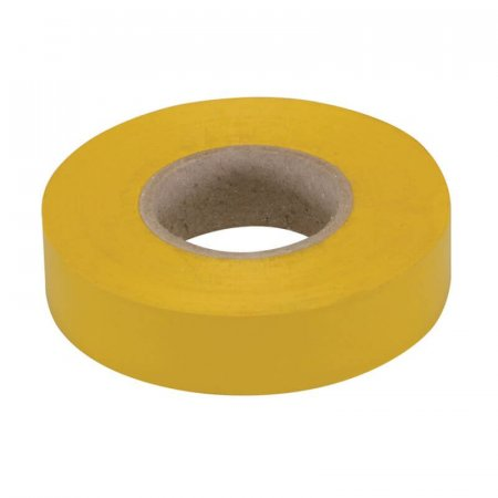 Yellow PVC Electrical Insulating Tape