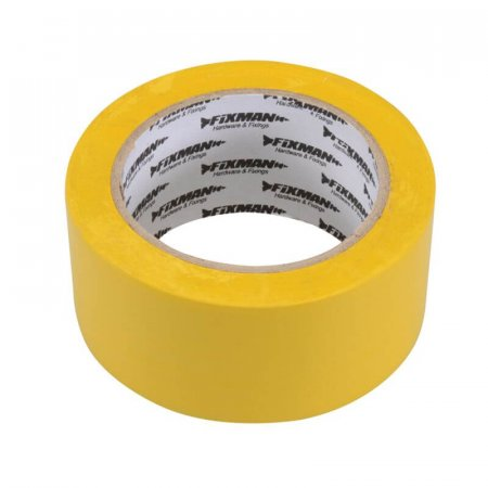 Extra Wide Yellow PVC Electrical Insulating Tape