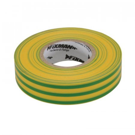 Green/Yellow PVC Electrical Insulating Tape