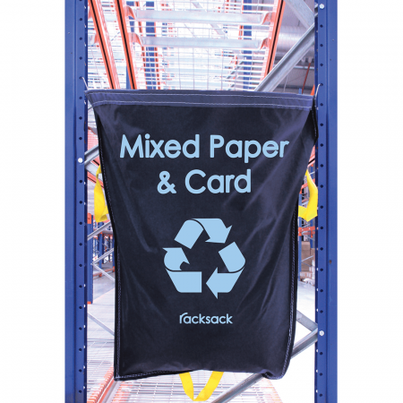 Warehouse Industrial Recycling Sack Mixed Paper & Card