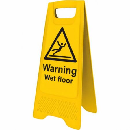 Yellow Cleaning / Wet Floor Sign