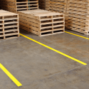 Lane Marking tape - used in a warehouse