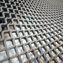 Diamond Grid PVC Safety Matting - Grey
