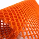 Diamond Grid PVC Safety Matting - Orange