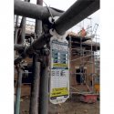 Scaffold Safety Tags in Use