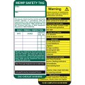 MEWP Saftey Tag Inserts