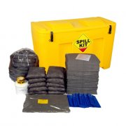 350 Litre General Purpose Spill Kit - Locker with Plug Rug Drain Cover