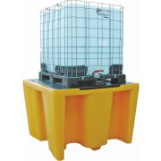 IBC Spill Pallet -  Removable Deck - 1100 Litre Sump