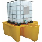 IBC Spill Pallet - Integral Dispensing Well - 1100 Litre Sump