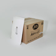 Jiffy Airkraft Size 4 White Box of 50