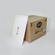 Jiffy Airkraft Size 5 White Box of 50