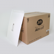 Jiffy Airkraft Size 7 White Box of 50