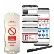Chemcial  Asset Safety Tags