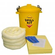 90 Ltr Chemical Spill Kit with Yellow Drum