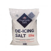 De-Icing White Salt - 25Kg Bag