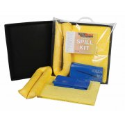 15 Ltr Chemical Spill Kit Includes Flexible Drip Tray